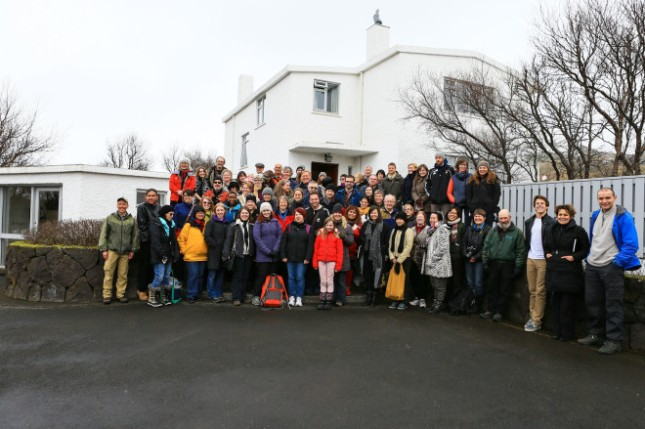 Iceland Writers Retreat Group Photo by the wonderful folks at Reykjavik.com