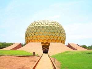 The Matrimandir was completed in 2008; eight years after my visit.