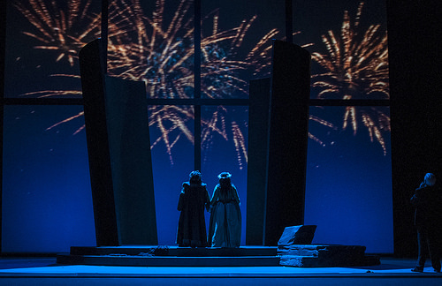 Ariadne meets Bacchus. Zerbinetta meets The Composer. Comedy meets Tragedy. And the result is pretty spectacular. Elise Bakketun photo courtesy of Seattle Opera