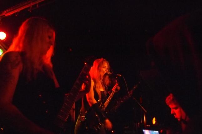 Angist performing in Reykjavik, 2014